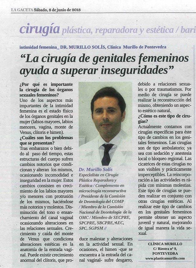 La cirugía en genitales femeninos ayuda a superar inseguridades
