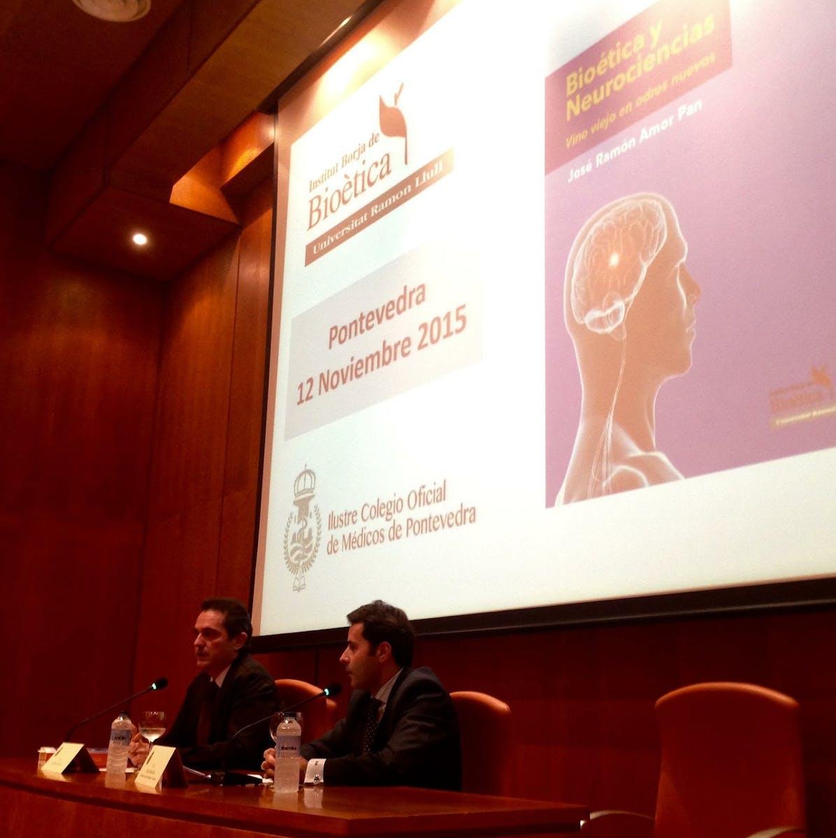 Presentación Libro. Bioética y Neurociencias