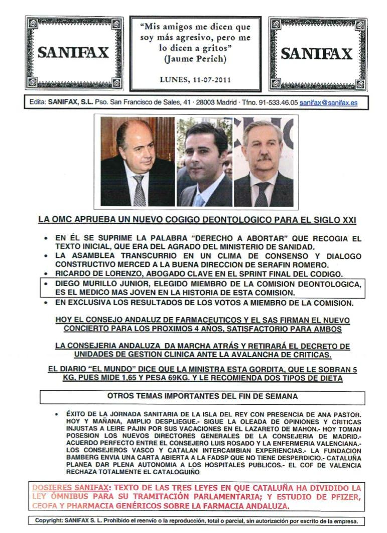 Diego Murillo Jr. Elegido miembro de la comisión deontológica