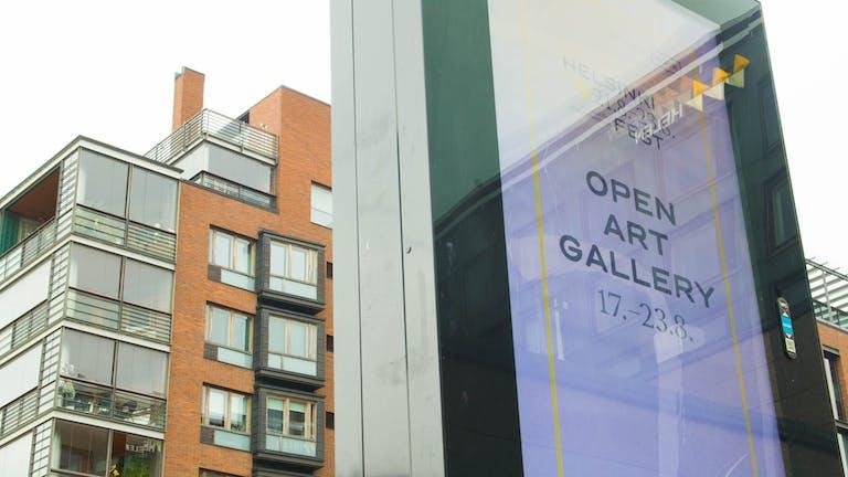 Open Art Gallery in Helsinki 17 - 23 August 2020