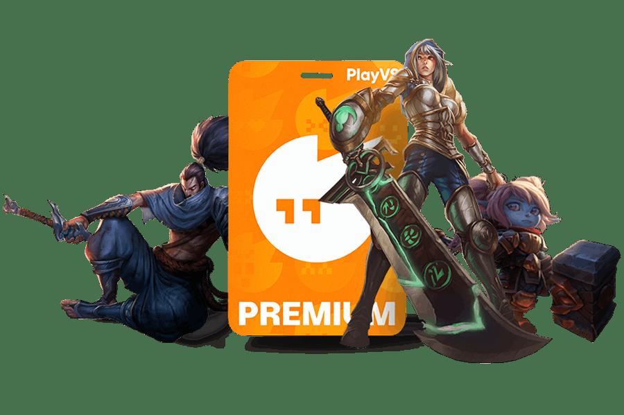 PlayVS Premium for League of Legends