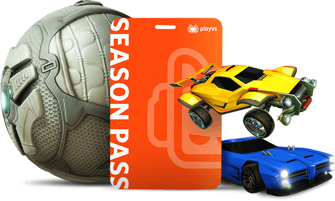 PlayVS Season Pass with Rocket League characters