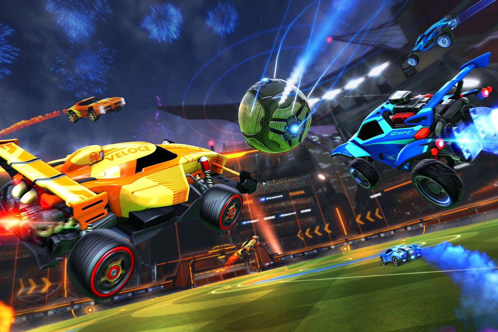 Rocket League in-game screenshot