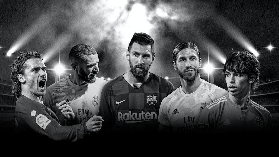 Fodbold i verdensklasse - Se hele La Liga på TV 2 PLAY
