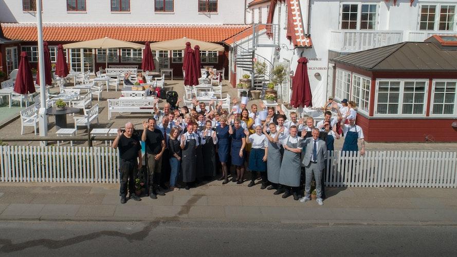 Følg hverdagen på Ruths Hotel i Gl. Skagen i de travle sommermåneder