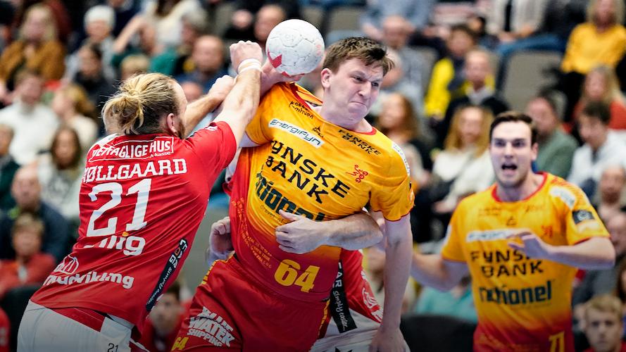 Følg med i Danmarks bedste Herrehåndbold liga - live på TV 2 PLAY