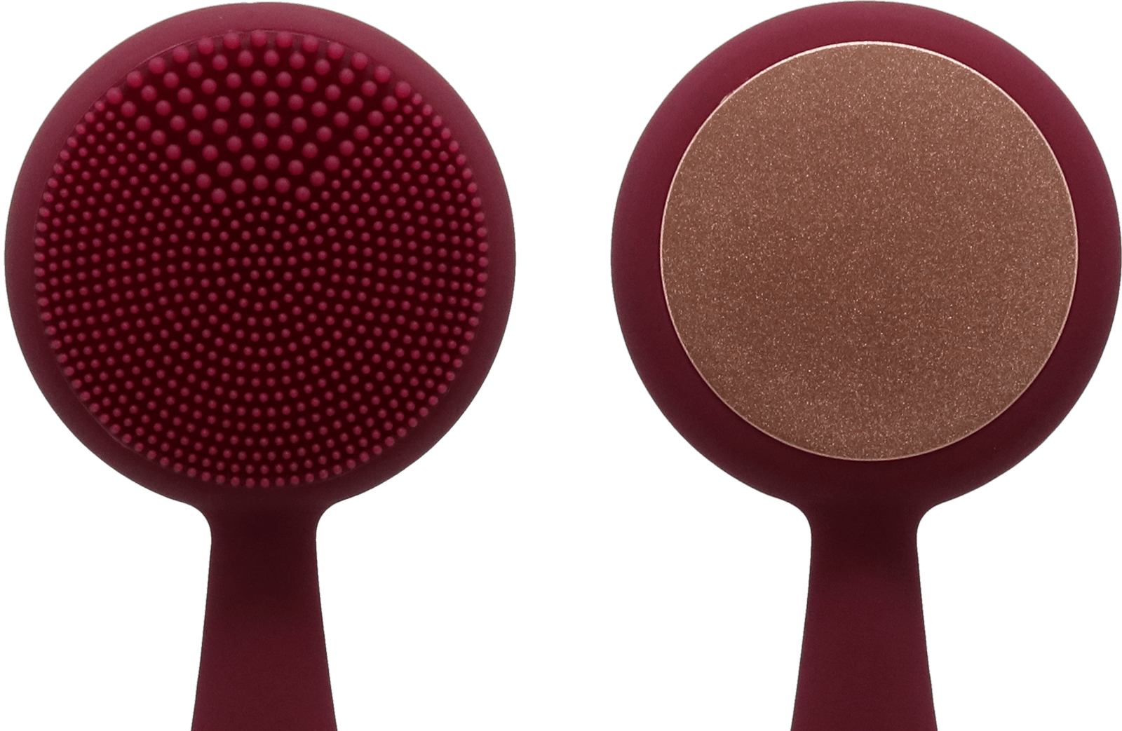 PMD Clean Pro's soft silicone bristles and ActiveWarmth™ Massager.