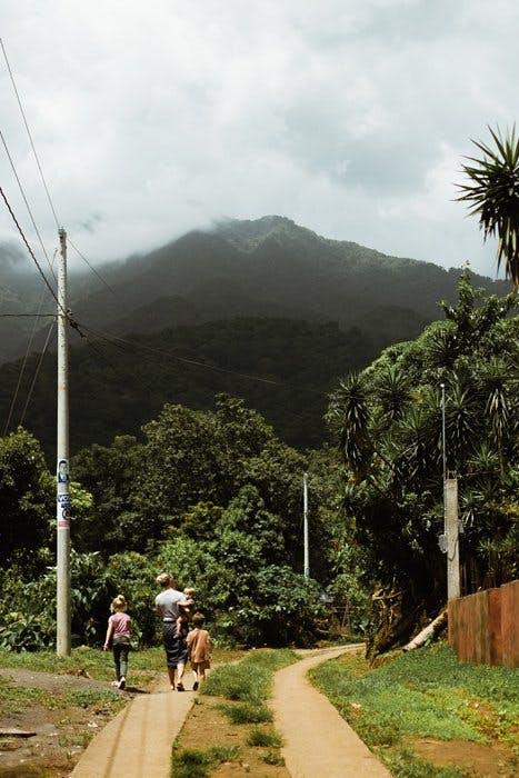 Volunteers in Guatemala