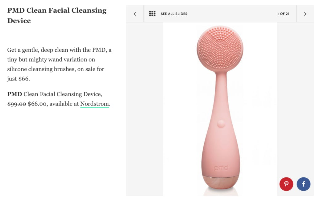 PMD Clean featured in Refinery 29
