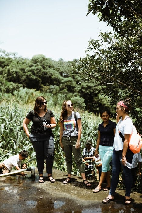 Alyssa and Natalie with PMD group in Guatemala