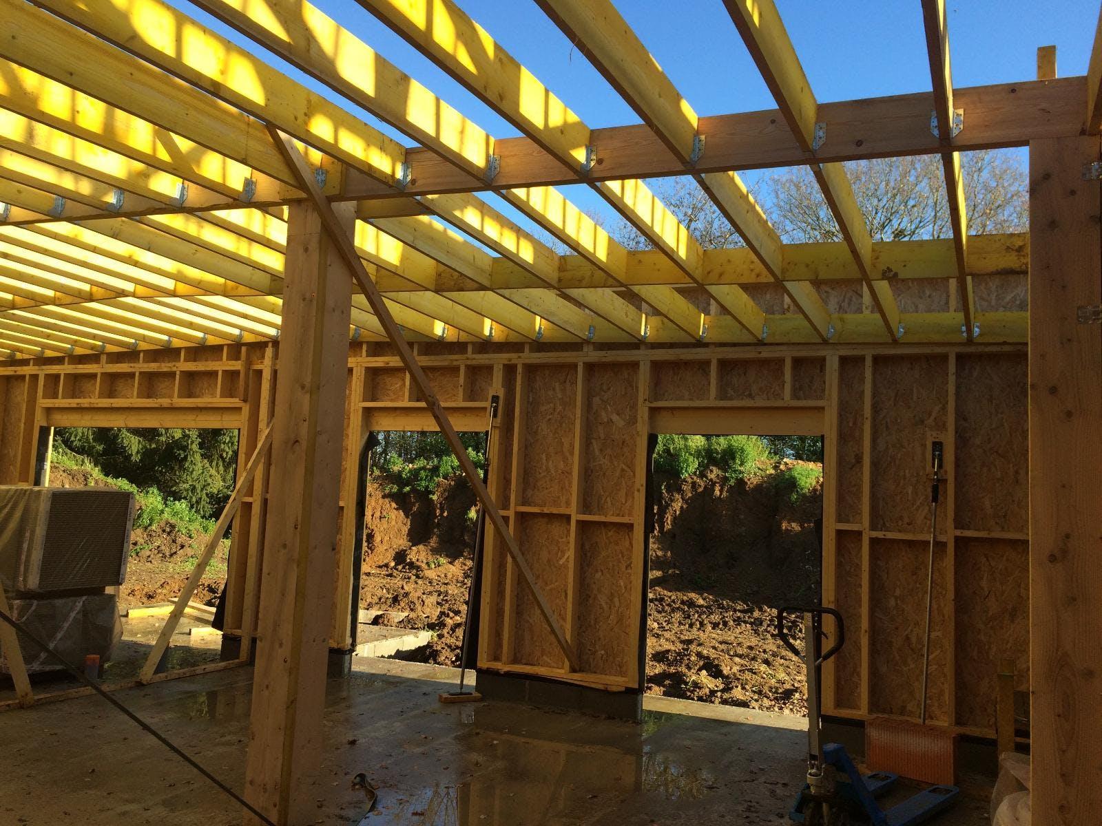 chapente pour toit plat
