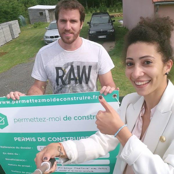 Leilha-Jérôme-panneau-permis-de-construire