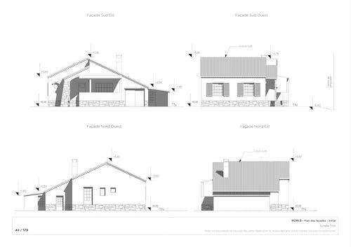 Plan de façade initial