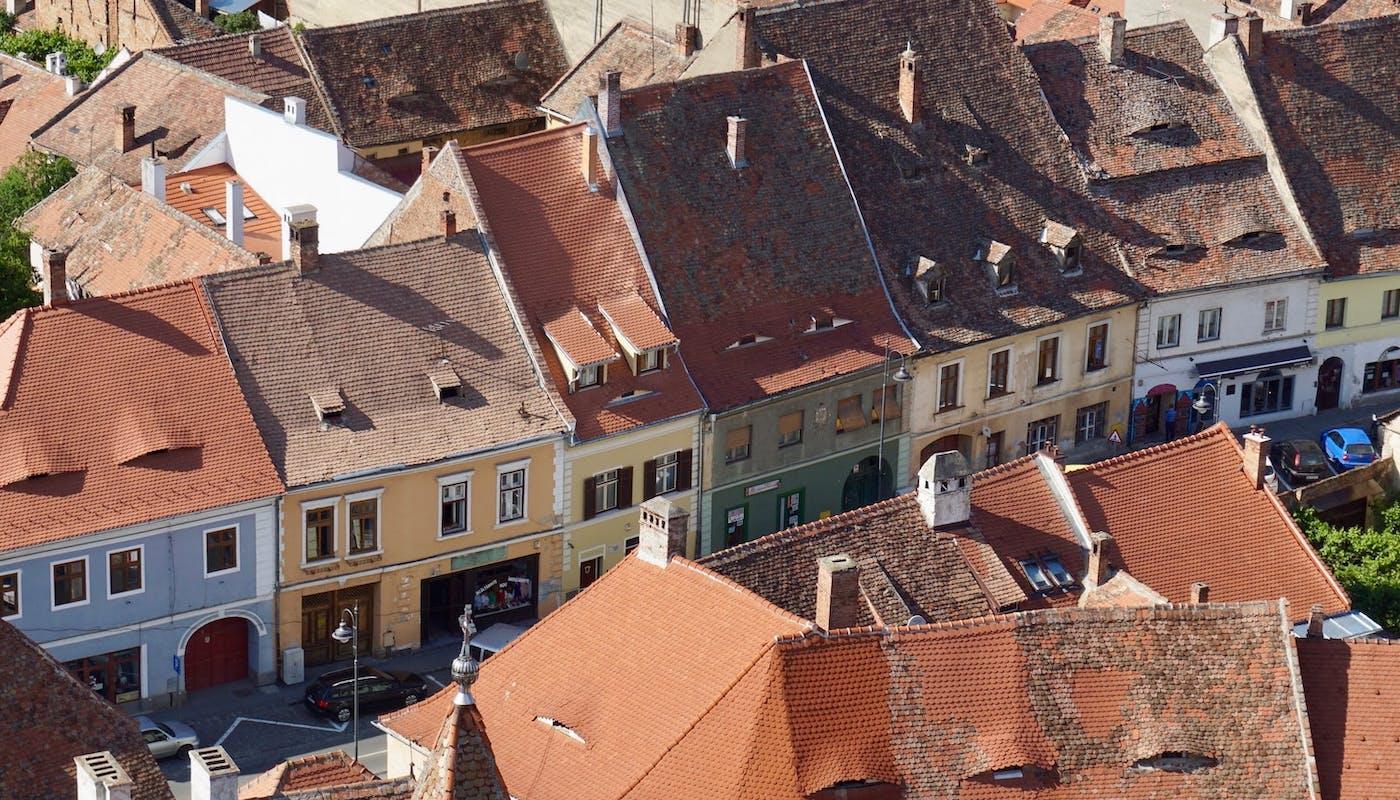 toit d'une ville