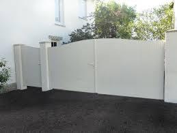 portail en pic blanc
