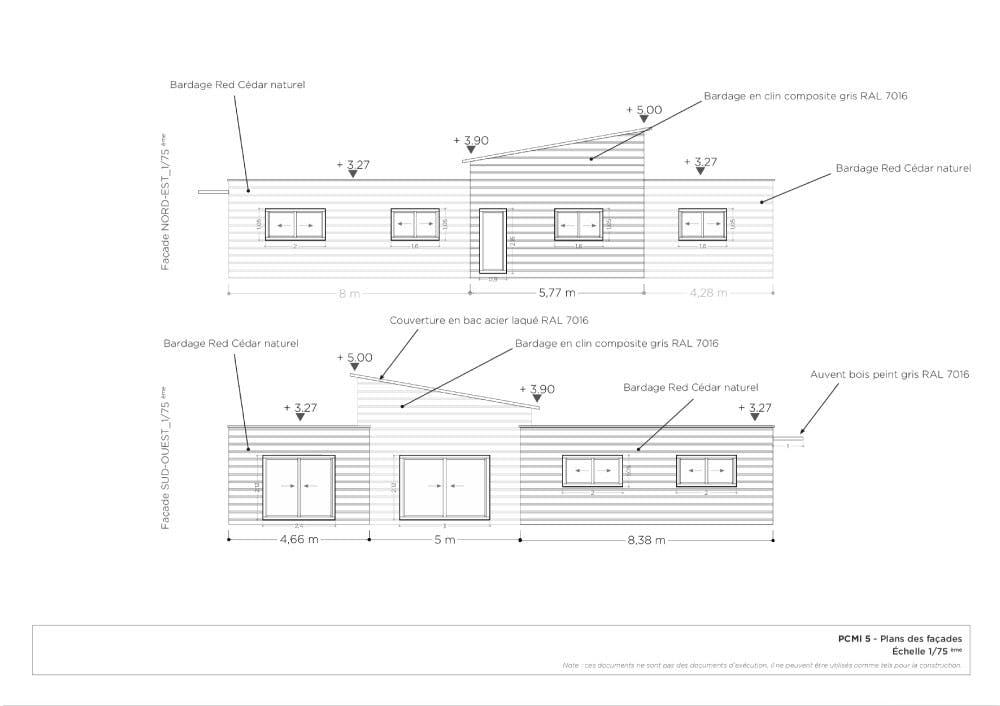Exemple de dossier de permis de construire