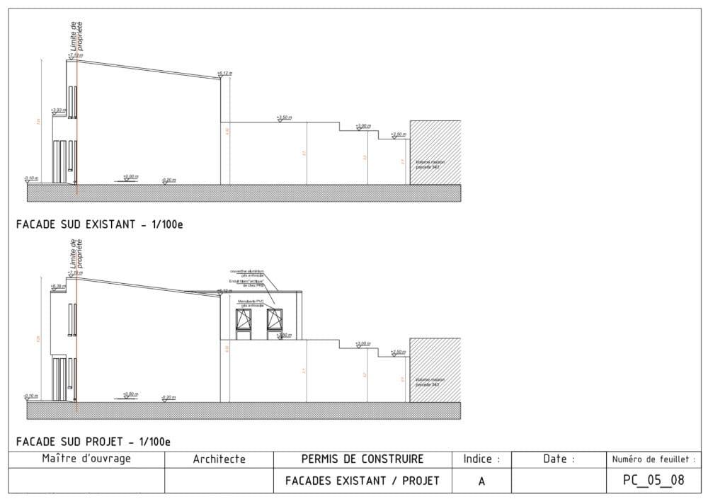 Qu'est ce qu'un plan de façade ?