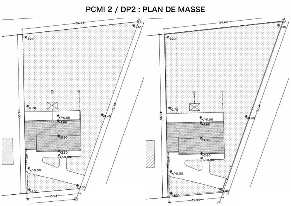 PCMI 2 / DP2 - PLAN DE MASSE-CLOTURE ET PORTAIL