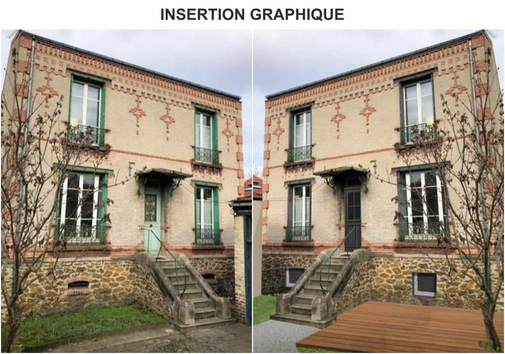 INSERTION GRAPHIQUE - RÉNOVATION DE FAÇADES