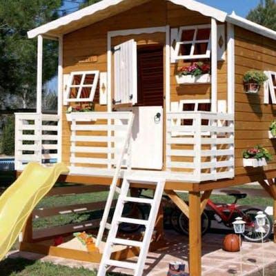 Construire une cabane en bois pour enfant - 5 projets DIY