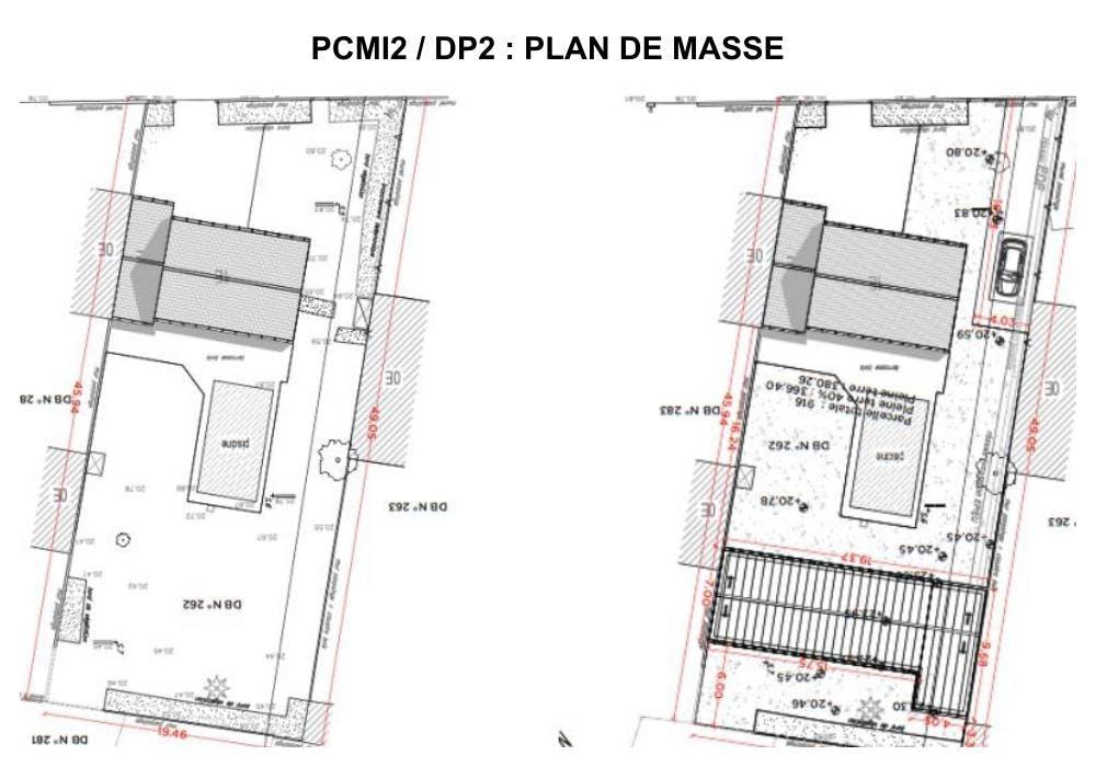 PCMI2 / DP2 : plan de masse - maison