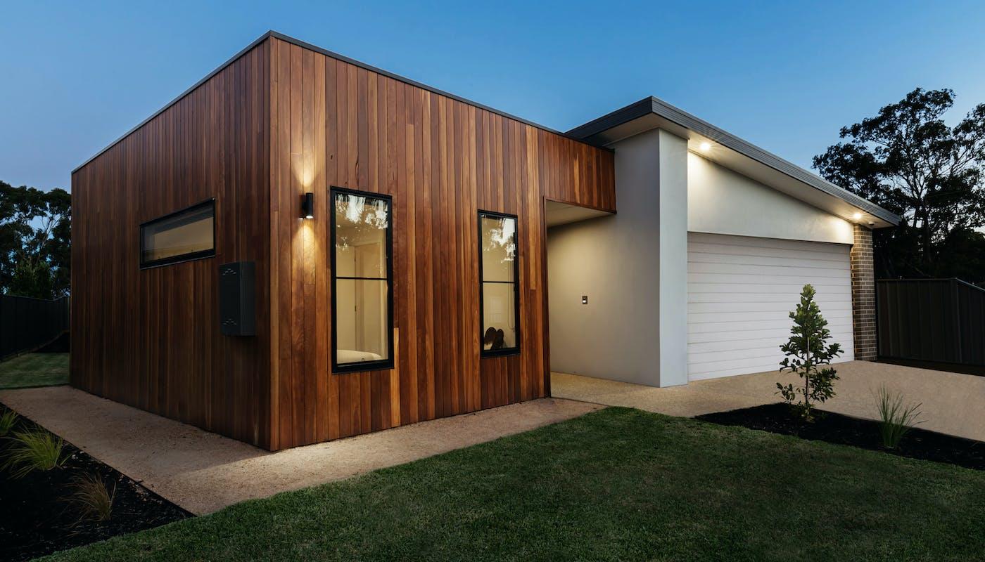 extension de maison moderne en bois