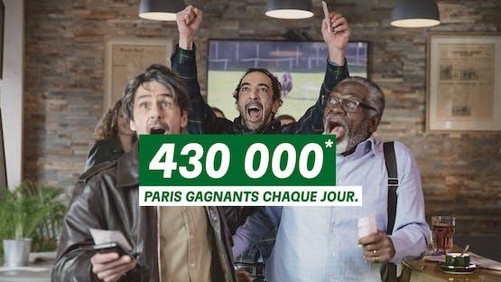 Avec 430000* paris gagnants en moyenne par jour en 2020, forcément c'est ce qu'on se dit, non?