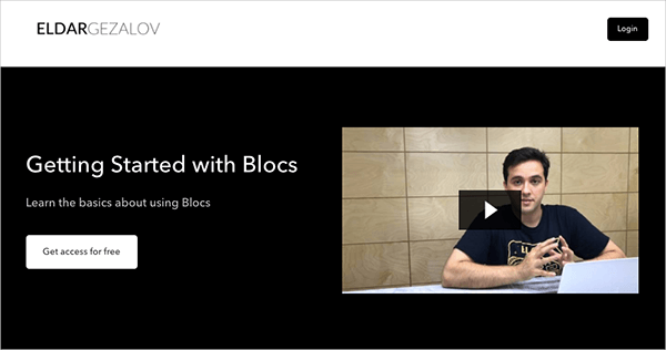Getting Started with Blocs