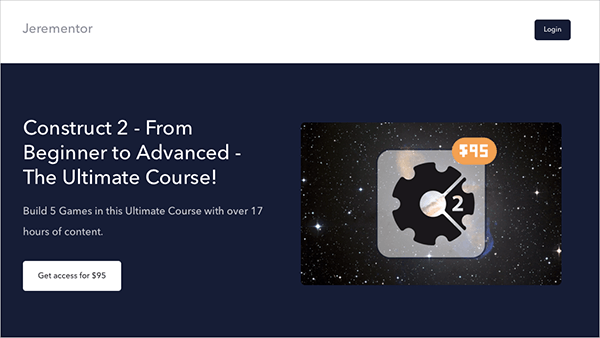 Construct 2 - From Beginner to Advanced