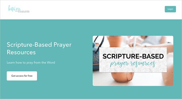 Scripture-Based Prayer Resources