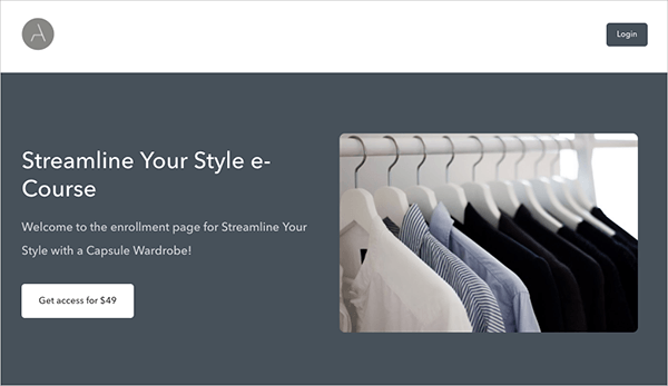 Streamline Your Style e-Course