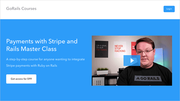 Payments with Stripe and Rails Master Class