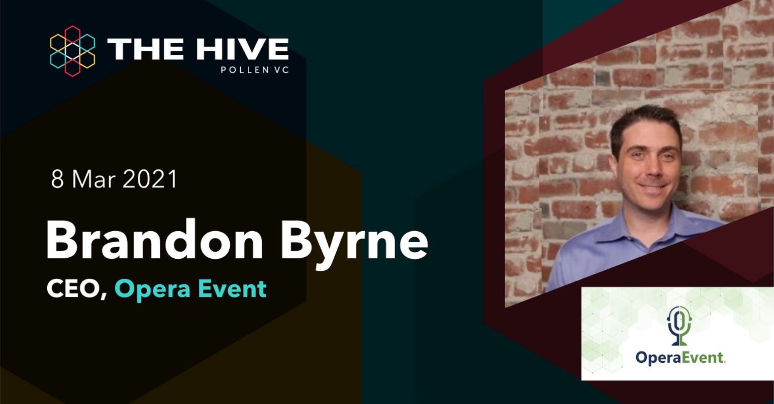 Header of The Hive with Brandon Byrne