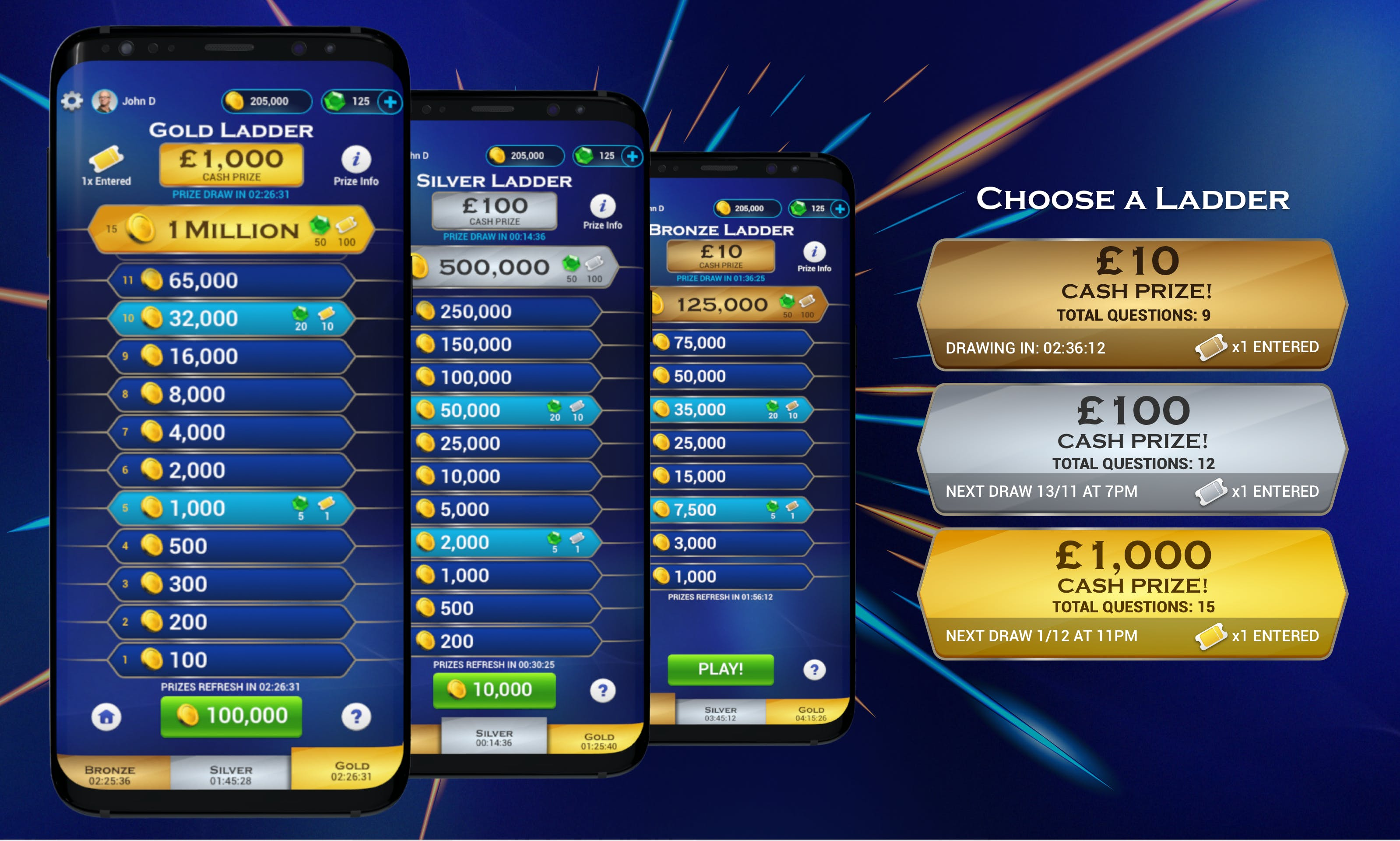 Who Wants to Be a Millionaire mobile game by Viker