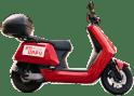 Poppy-moped