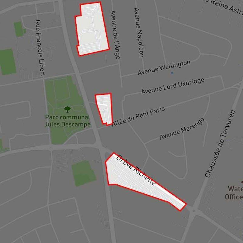 Waterloo new zone