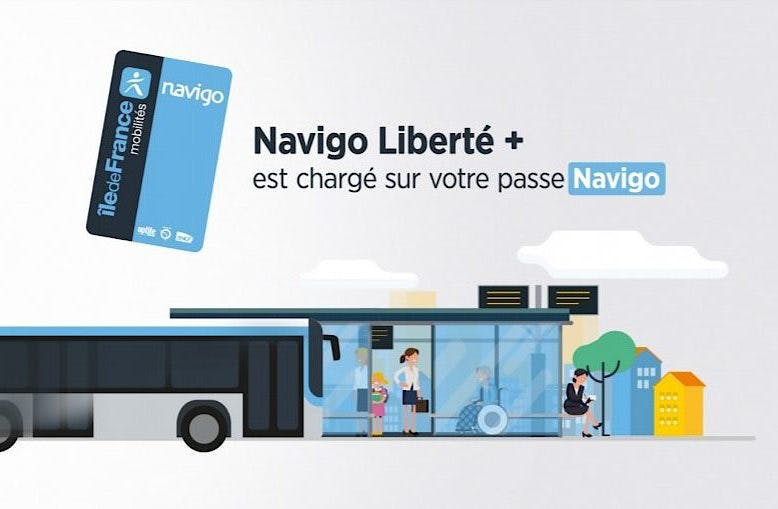Navigo Liberté + est chargé sur votre passe Navigo
