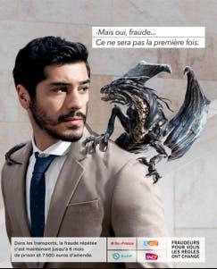 Campagne de lutte contre la fraude dans les transports : Fraudeurs et Dragons