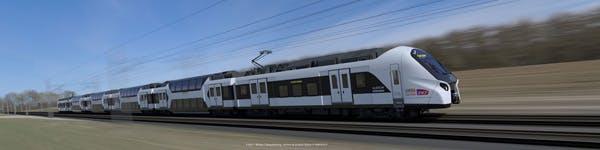 Passage trains de nouvelle génération sur la ligne D et E
