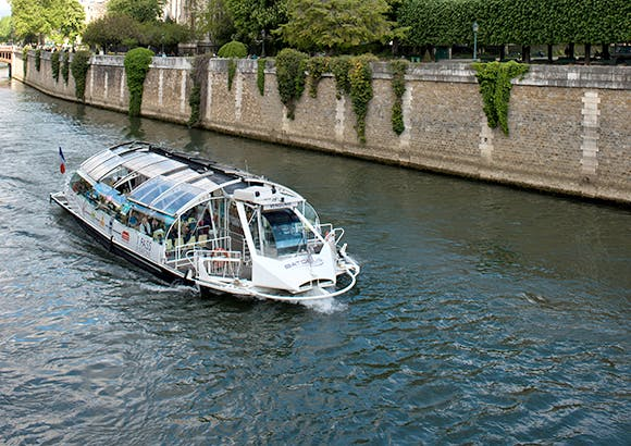 Transport fluvial en voie