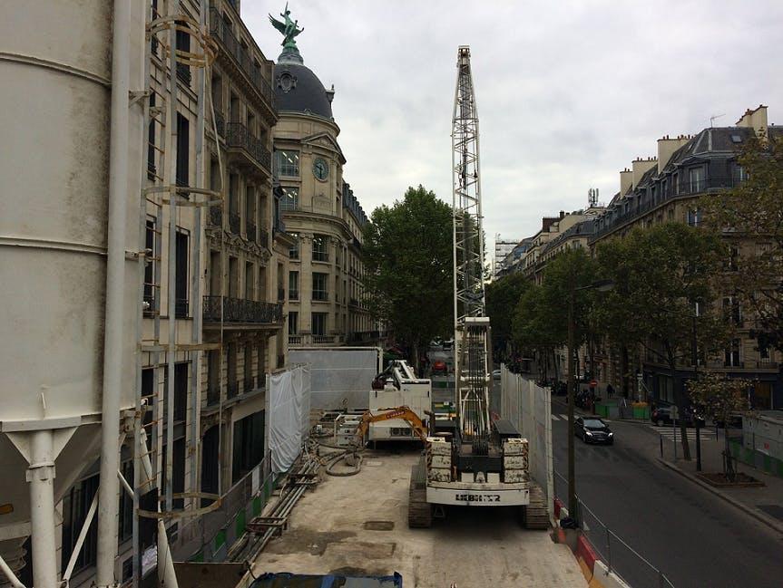 Perspective sur l'avancement des travaux dans le 8ème arrondissement de Paris