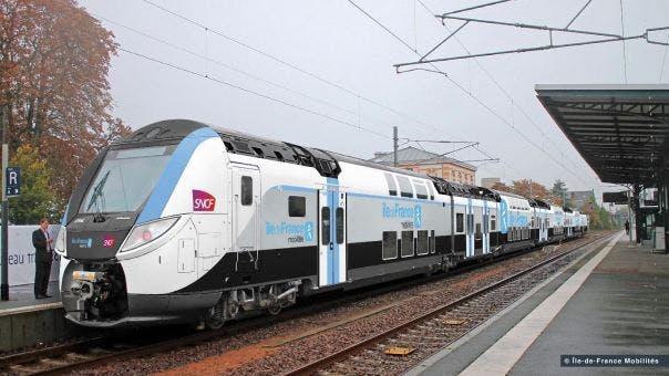 Nouveau Train Regio 2N au quai