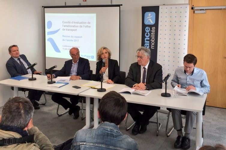 Le comité d'évaluation de l'offre de transport en île-de-France