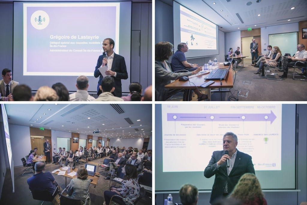 Meeting des dirigeants des transports en commun sur : Challenge Information Voyageurs