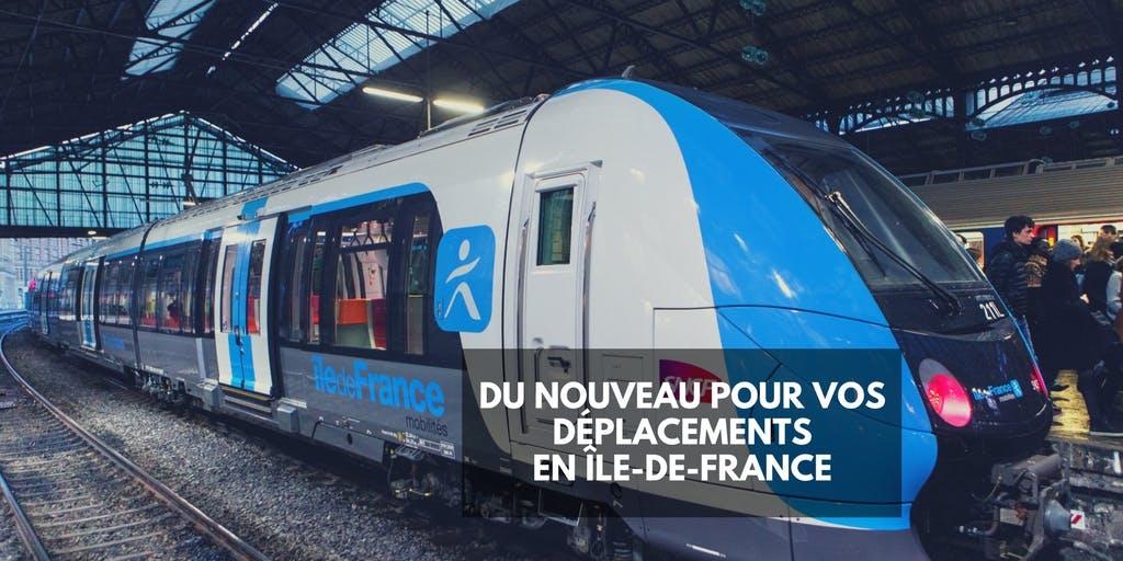 Affiche : Du nouveau pour vos déplacements en île-de-France