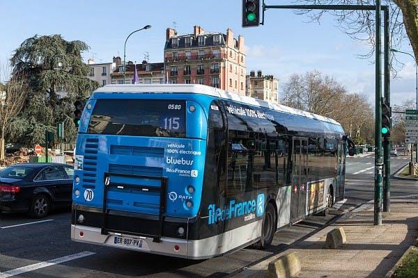 Passage bus 115 électrique 100%
