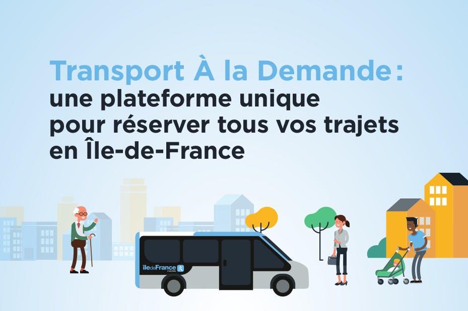 Infographie : Transport à la demande