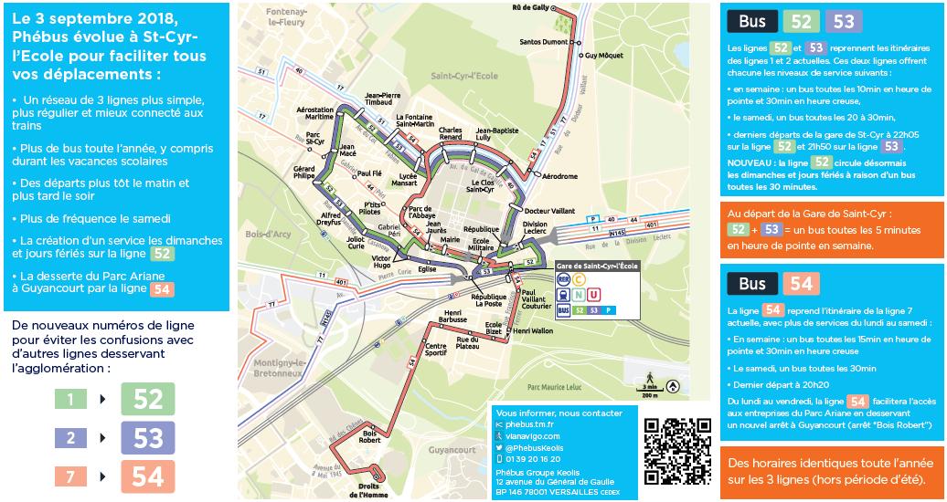 Infographie : Perspective sur le réseau de transport de ST-Cyr