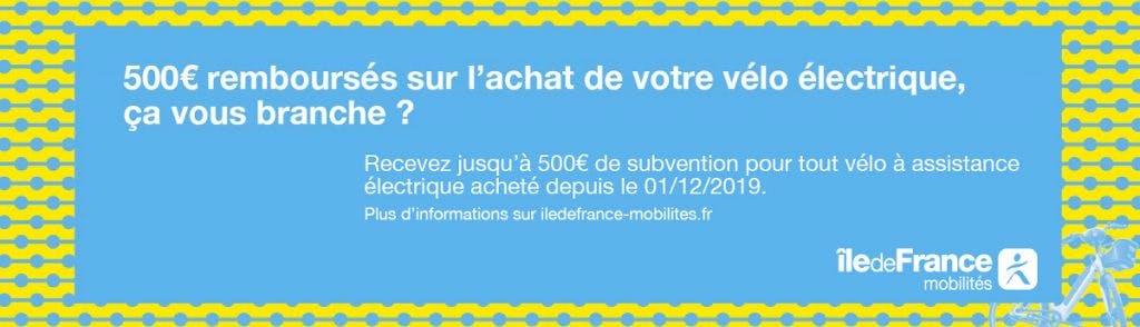 500 euros remboursés pour l'achat d'un vélo électrique