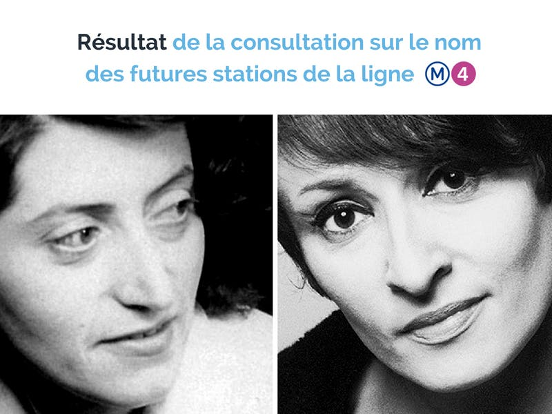 Portraits Lucie Aubrac et Barbara